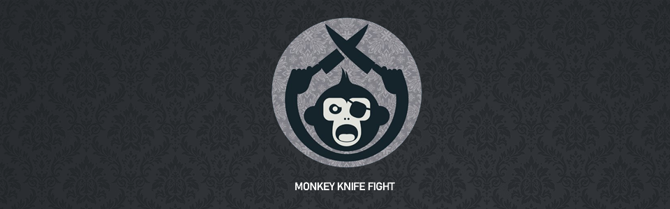 Monkey Knife Fight Review Logo